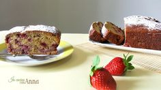 il plum cake alle fragole massimo 10 minuti e sta in forno in più è molto light non contiene burro o olio..