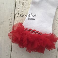 Leg Warmers - Baseball/Softball with or without red ruffle - NO RUFFLES