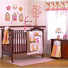 CoCaLo Baby In the Woods 8-Piece Crib Bedding Set