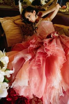Pink Petal Gown