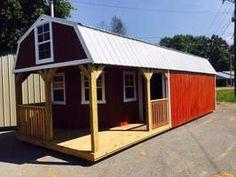 Amish built portable Garage Shed Cabin Barn Tiny House No ...