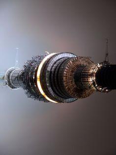 motor de la nave espacial.