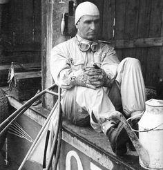 "goodoldvalves: "" Giuseppe Nino Farina, Standing at the boxes of Alfa Romeo, where I believe to be the Nurburgring. Best Racing Cars, F1 Racing, Race Cars, Grand Prix F1, British Grand Prix, Alfa Romeo, Nascar, Formula 1, Ferrari Racing"