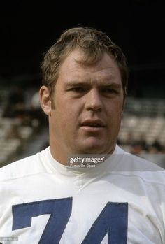 CIRCA 1960 s  Defensive Tackle Merlin Olsen  74 of the Los Angeles Rams in  this f27c7adc5