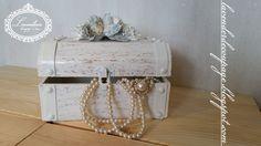 Lavenderia - decoupage i inne: Skrzynka na biżuterię