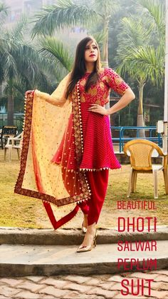 Wedding Outfits For Women, Indian Wedding Outfits, Indian Outfits, Indian Attire, Indian Wear, Pakistani Dresses, Indian Dresses, Punjabi Dress Design, Simple Indian Suits