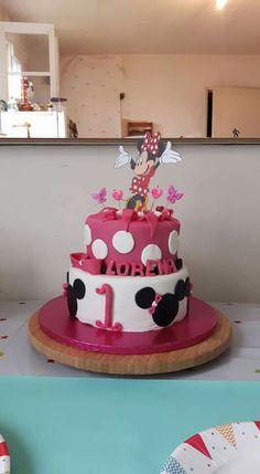 Minnie chocolate cake ! Girl - birthday...