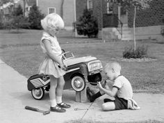 Young Mechanic ~Photo by H. Armstrong Roberts