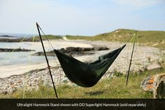 Ultralight Hammock Stand - World's lightest hammock stand!