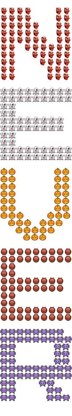 Found this app with amazing emoji art 🙂