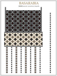 Folk Embroidery Patterns u Embroidery Sampler, Embroidery Motifs, Hand Embroidery Designs, Machine Quilting Patterns, Quilt Patterns, Knitting Patterns, Embroidery Techniques, Craft Patterns, Cross Stitching
