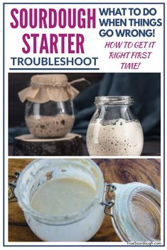 These sourdough starter tips will help solve problems you may be having with your sourdough starter. It's got tips on what to do if your sourdough starter is dying, and how to revive it. #sourdoughstarter #truesourdough #sourdough #sourdoughbread #noyeast Sourdough Recipes, Sourdough Bread, Bread Recipes, Starter Recipes, Baking Basics, Baking Tips, Bread Baking, Baking Recipes, Quick Bread