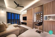 Find out how you can max. out on clever interior ideas for your small apartment.
