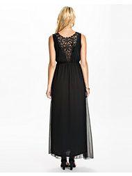Jeane Blush Lace Back Long Dress