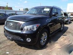 2012 INFINITI QX56    THIS IS A SALVAGE REPAIRABLE VEHICLE WITH DAMAGE TO THE RIGHT SIDE DOORS. RUNS AND DRIVES, AWD AND ALL AIRBAGS ARE INTACT. For more information and immediate assistance, please call +1-718-991-8888