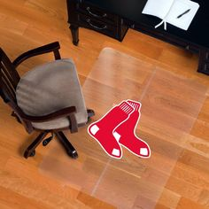Red Sox floor protector