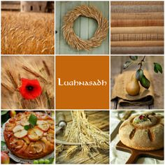 Gaelic festival marking the beginning of the harvest season Lughnasadh moodboard Days and holidays: Wiccan, Magick, Witchcraft, Moon Witch, Witch Spell, Sea Witch, Beltane, Pagan Festivals, Harvest Season