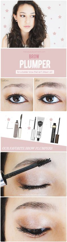 the beauty department brow plumper