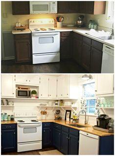 Easy Kitchen Makeover On A Budget Of $1500! Kitchen Renovations, Storage  Ideas, Kitchen