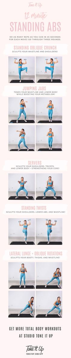 12 minute Standing Abs Workout by maude