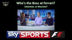 Who's the boss At Ferrari? Maurizio, or Sebastian?