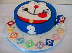Resultat d'imatges de tartas doraemon Doraemon, Birthday Cake, Desserts, Food, Pies, Tailgate Desserts, Birthday Cakes, Deserts, Eten