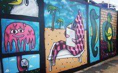 Graffitis en Bondi Beach #beach #bondi #bondibeach #bondibeachsydney #sydney #graffiti #wall #graffitiart by n18mm3 http://ift.tt/1KBxVYg