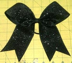 Glimmer Glitter Cheer Bow by lisascheerbows on Etsy, $12.00- yes softball players wear cheer bows!