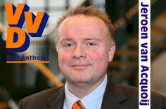 VVD Sint Anthonis. Lijst 3, Kandidaat 3: Jeroen van Acquoij.