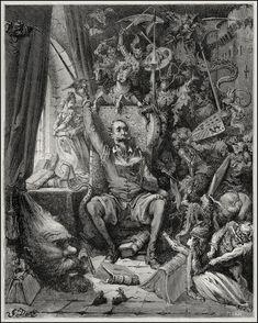 Don Quijote de la Mancha, by Gustave Doré