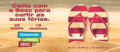 Conte com o #SESCRS para curtir as suas #férias! www.rogerioamaral.com.br #ficaadica #portoalegre