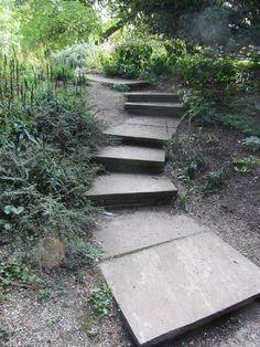 Cambridge University, Botanical Gardens, Sidewalk, Outdoor Decor, Side Walkway, Walkway, Walkways, Pavement