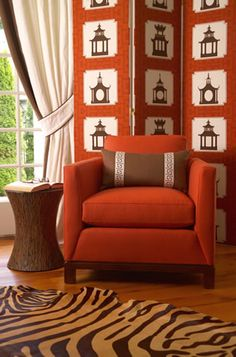 Custom Upholstered Screens. Image: calicocorners.com.