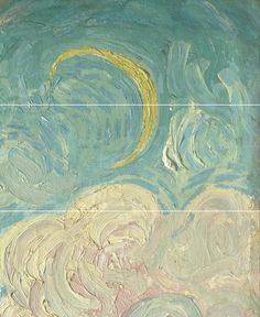 Vincent Van Gogh - Cypresses, 1889 (details)