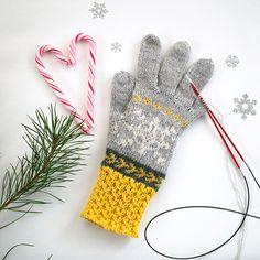 Design: Linda Brodin Monster, Snowflakes, Gloves, Design, Fashion, Moda, Snow Flakes, Fashion Styles