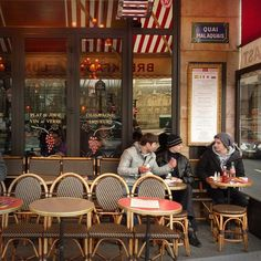 Chiacchiere da bar al Boccacino - Paris