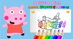 Peppie Pig Coloring Books – Miniaturansicht des Screenshots Skills To Learn, Play To Learn, Learning Skills, Free Coloring, Coloring Books, Peppa Pig Games, Kindergarten, Book 1, Android Apps