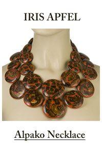 Iris Apfel necklace