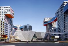 Linked Hybrid | Steven Holl Architects; Photos: Shu He / Iwan Baan | Bustler