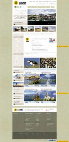 Kontiki, summer home page
