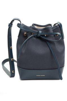 Stop What You're Doing: Mansur Gavriel Just Restocked #refinery29  http://www.refinery29.com/mansur-gavriel-spring-bucket-bags#slide-6  Mix things up with a little navy.