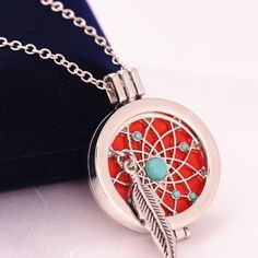 2 Left! Dream With Dreamcatchers Oil Necklace