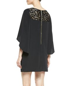 Milly ワンピース Millyセール☆Keira Butterfly Sleeve Dress(3)