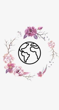 Instagram Logo, Story Instagram, Instagram Design, Free Instagram, Instagram Story Template, Instagram Feed, Roses Tumblr, Logo Fleur, Hight Light