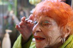 the amazing Ilona Royce Smithkin & the eyelash cabaret via Advanced Style