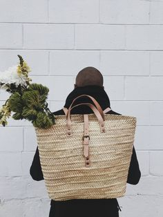 Local Women, Market Bag, Boho Chic, Bohemian, Straw Bag, Artisan, Backpacks, Bags, Collection