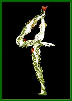 4 Erte's Naughty Alphabet suite 1927-67 by mpt.1607, via Flickr