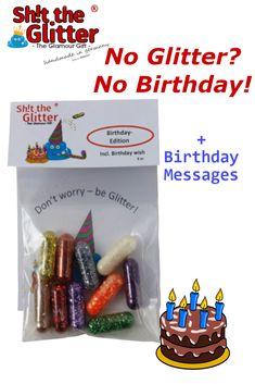 Geschenk,Party,Spiel,Überraschung,Shit Baggy Shit the Glitter