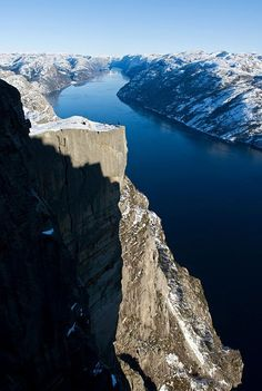 Pulpit Rock (Preikestolen Cliff) ~ Stavanger, Norway