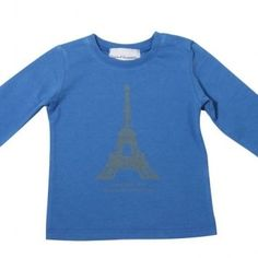 Eiffel Tower T-shirt for boys - New at Claradeparis.com